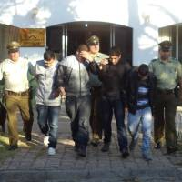 DESARTICULADA BANDA QUE SE DE DEDICADA  AL ROBO DE VEHICULOS EN DIFERENTES COMUNAS DE LA REGION