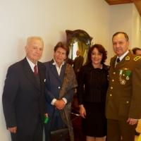 HIJO DE GENERAL CARLOS IBÁÑEZ DEL CAMPO ACOMPAÑÓ A CARABINEROS DE LA REGIÓN EN LA CELEBRACIÓN DE ANIVERSARIO