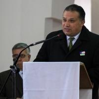 LA CEREMONIA SE REALIZÓ EN LA PARROQUIA SAN FERNANDO REY ALCALDE LUIS BERWART DESTACÓ MENSAJE DEL TE DEUM POR FIESTAS PATRIAS