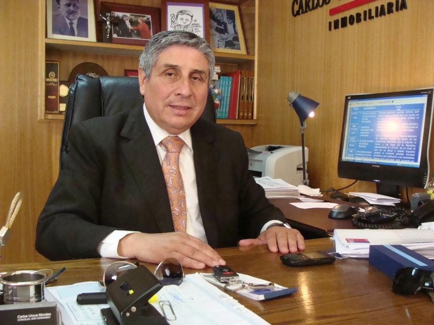 Concejal Carlos Urzua temas deportivos