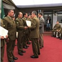 EL GENERAL DON JOSÉ LUIS RIVERA AEDO, PRESIDE LA CEREMONIA DE CERTIFICACIÓN  DE SEMINARIO DE JEFES DE DESTACAMENTOS DE LA VI ZONA