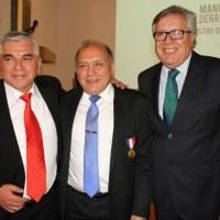 """MINISTRO DE LA CORTE SUPREMA MANUEL VALDERRAMA ES NOMBRADO """"HIJO ILUSTRE"""" DE RANCAGUA"""