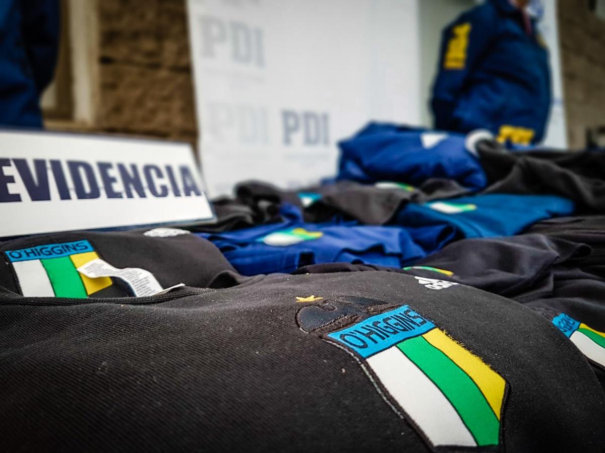 PDI de Rancagua detuvo a 14 sujetos por al menos ocho robos en O'Higgins y la Región Metropolitana
