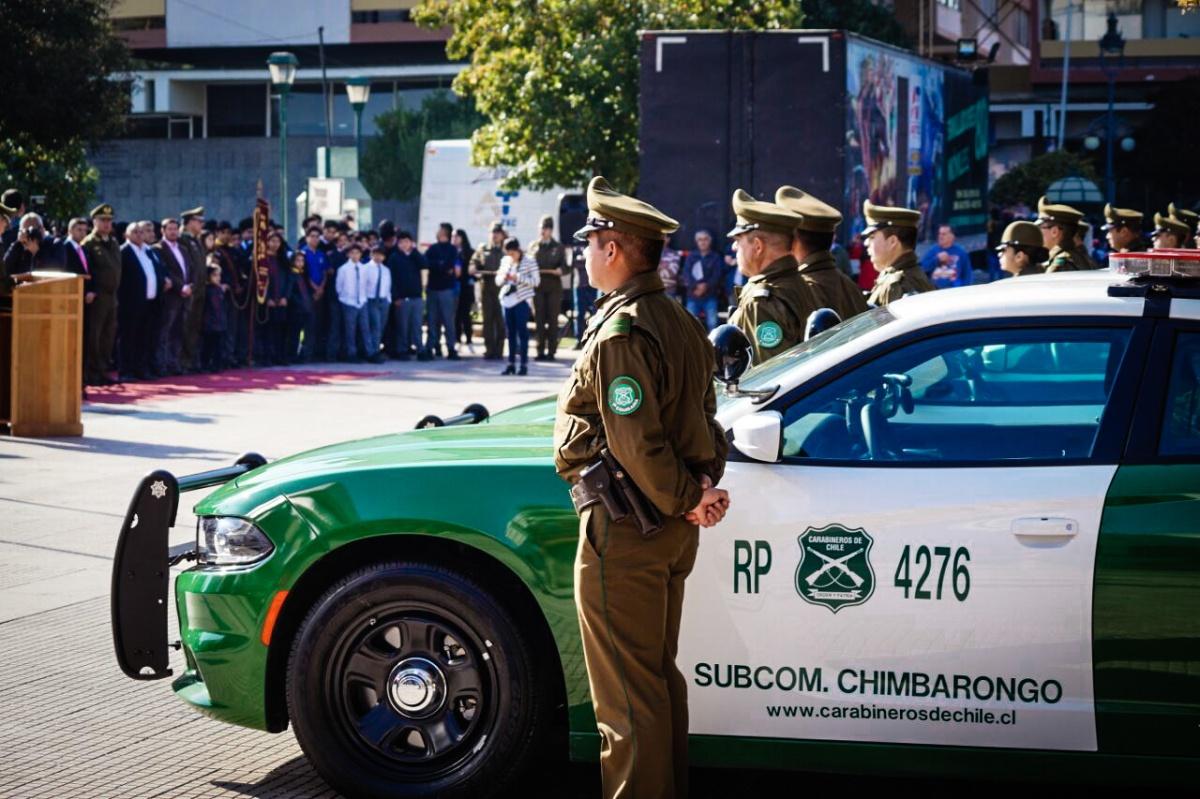 Carabineros de la Región de O'Higgins recibió nuevos vehículos policiales