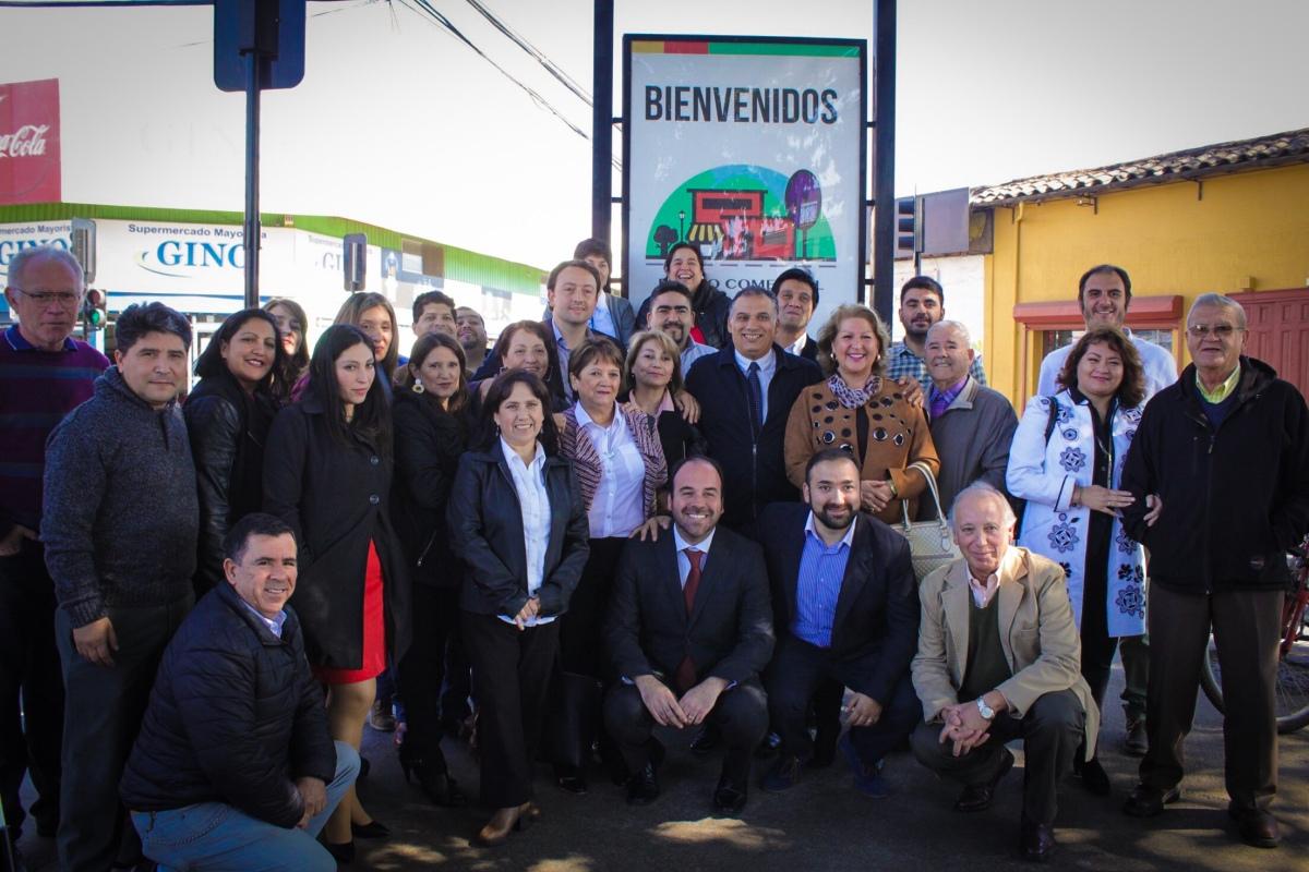 Barrio Comercial Calle Rancagua recibió soportes que permitirán mejorar su desempeño comercial