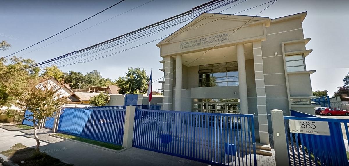 Juzgado de Garantía de San Vicente decretó la prisión preventiva de imputado por homicidio